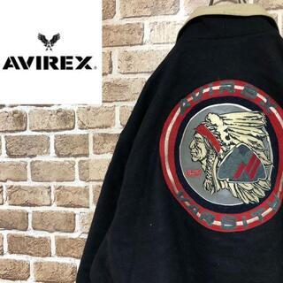AVIREX - ☆アヴィレックス☆USA製インディアンウールジャケット スタジャン ビッグサイズ