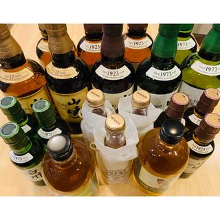 サントリー(サントリー)の山崎12年 山崎・白州ノンビンテージ その他色々飲み比べセット(ウイスキー)