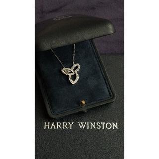 ハリーウィンストン(HARRY WINSTON)のハリー・ウィンストン リリークラスター プラチナ ペンダント(ネックレス)