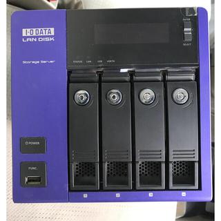 アイオーデータ(IODATA)のiodata NAS HDL-Z4WS2.0A storage server(デスクトップ型PC)