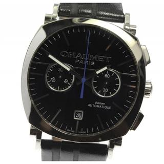 ショーメ(CHAUMET)の☆良品 ショーメ ダンディ クロノグラフ W11690-30A メンズ 【中古】(腕時計(アナログ))