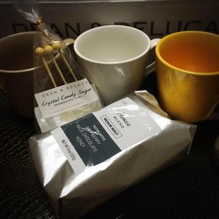 ディーンアンドデルーカ(DEAN & DELUCA)のDEAN&DELUCA マグカップ&コーヒーセット(グラス/カップ)