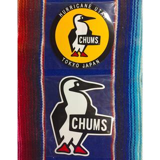 チャムス(CHUMS)の新品 CHUMS Sticker 2枚セット チャムス ステッカー e(その他)