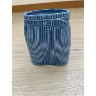 リサラーソン(Lisa Larson)の値下済【143】リサラーソンLISA LARSON スカートブルー ワードローブ(花瓶)