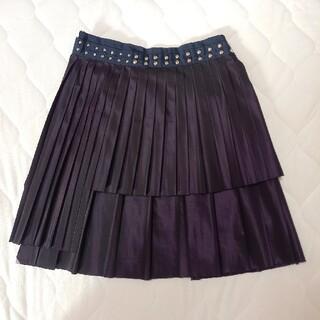サカイ(sacai)のsacaiサカイプリーツスタッズスカート(ひざ丈スカート)