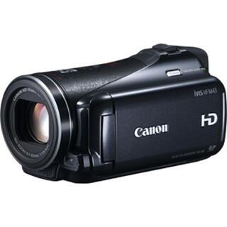 キヤノン(Canon)のCanon IVIS HF M43   専用バッグ&三脚付き(ビデオカメラ)