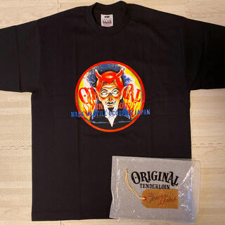 テンダーロイン(TENDERLOIN)の未使用! TENDERLOIN 半袖 Tシャツ TEE ON オールドニック L(Tシャツ/カットソー(半袖/袖なし))
