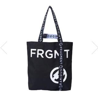 FRAGMENT - RAMIDUS × FRAGMENT TOTE BAG M black