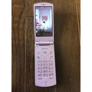 エヌイーシー(NEC)のdocomo ドコモ N-01G ピンク NEC ガラケー 携帯電話(携帯電話本体)