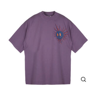 ジョンローレンスサリバン(JOHN LAWRENCE SULLIVAN)のMagliano Tシャツ マリアーノ パープル(Tシャツ/カットソー(半袖/袖なし))