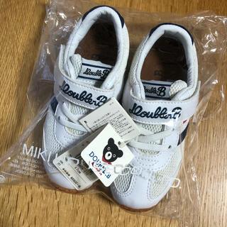 ダブルビー(DOUBLE.B)の新品☆ ミキハウス ダブルビー  スニーカー 靴 17.0cm(スニーカー)