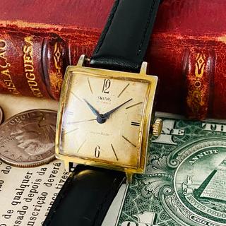 スミス(SMITH)の【アンティーク スミス】英国 紳士 腕時計 smith 手巻き 21石 メンズ(腕時計(アナログ))