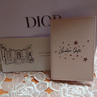 クリスチャンディオール(Christian Dior)のディオール、ノベルティパスポートケース(名刺入れ/定期入れ)
