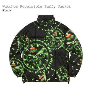 シュプリーム(Supreme)のsupreme watches reversible puffy jacket (ダウンジャケット)