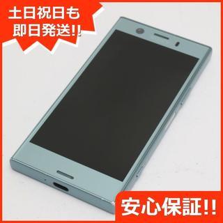 エクスペリア(Xperia)の美品 SO-02K ブルー 本体 白ロム (スマートフォン本体)