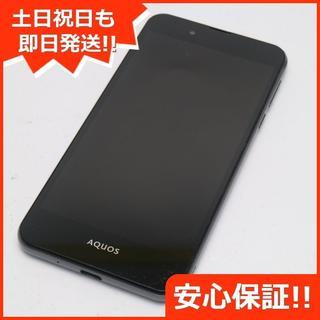 シャープ(SHARP)の美品 AQUOS L2 ブラック 白ロム(スマートフォン本体)