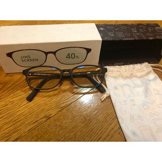 JINS - ジンズスクリーン 40%カット ブルーライトカットメガネ