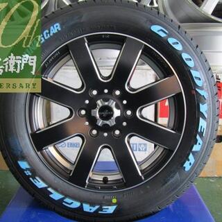 ニッサン(日産)のファブレス パンデミック LW-8 モノブロック 4本セット(タイヤ・ホイールセット)
