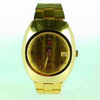 ALTAR/アルタ― DE LUXE/3針 デイト 手巻き ゴールド系(腕時計(デジタル))