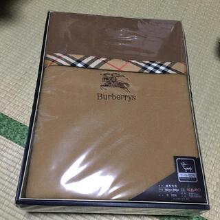 BURBERRY - *仙台藤崎購入*バーバリー  純毛毛布*