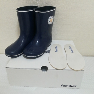 ファミリア(familiar)のファミリア レインシューズ 16.0&靴下15㎝おまとめ(長靴/レインシューズ)