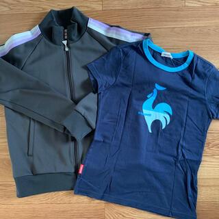 ルコックスポルティフ(le coq sportif)のルコックスポルティフ ジャケット & Tシャツ★2枚セット(Tシャツ(長袖/七分))