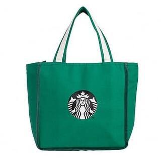 スターバックスコーヒー(Starbucks Coffee)のスターバックス :保冷バッグ ロゴ スタバ 台湾 限定商品(エコバッグ)