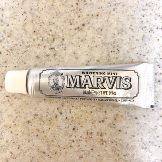 マービス(MARVIS)のMARVIS マービス 歯磨き粉 ホワイトミント 10ml(歯磨き粉)