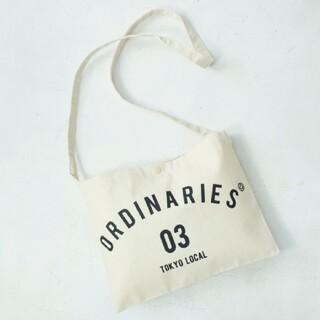 オールオーディナリーズ(ALL ORDINARIES)の新品未使用☆ALL ORDINARIES サコッシュ ショルダーバッグ 非売品(ショルダーバッグ)