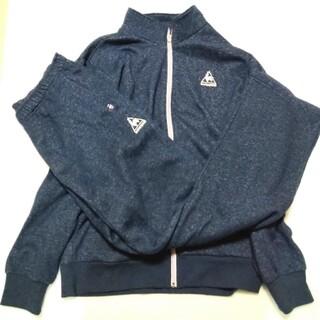 le coq sportif - Le coq sportif色·紺色★·上着はOサイズ·ズボンはL