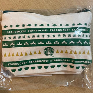 スターバックスコーヒー(Starbucks Coffee)の【未開封】スタバ ホリデー 2020 シュトーレン ポーチ付き(菓子/デザート)