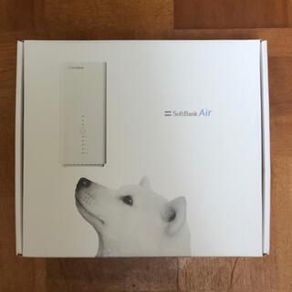 ソフトバンク(Softbank)の【付属品あり】SoftBankAir WiFiルーター Airターミナル(PC周辺機器)