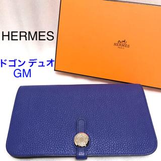 エルメス(Hermes)のHERMES ドゴンデュオ ブルーエレクトリック(財布)