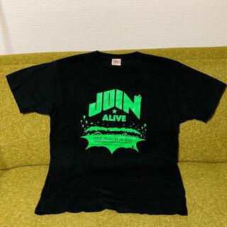ロゴス(LOGOS)のJOIN ALIVE STAFF Tシャツ(ミュージシャン)