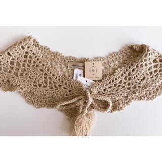 サマンサモスモス(SM2)のSM2⋈ 手編みかぎ針ニット付け衿(つけ襟)