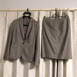 オリヒカ(ORIHICA)の【秋冬】ORIHICA オリヒカ ベージュ スーツ スカート(スーツ)