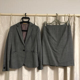 オリヒカ(ORIHICA)の【秋冬】ORIHICA オリヒカ グレー スーツ スカート 9号(スーツ)