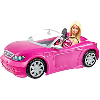 Barbie - barbie♡新品バービーと可愛いピンクのクルマ♡プレゼントにも