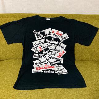 デビルユース(Deviluse)のRedLine Deviluse タワレコ Tシャツ(ミュージシャン)