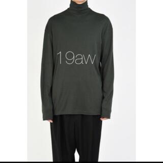 ラッドミュージシャン(LAD MUSICIAN)のHIGH NECK BIG T-SHIRT 19aw 新品 定価以下(Tシャツ/カットソー(七分/長袖))