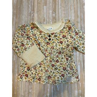 ビケット(Biquette)のビケット 小花柄トップス 90(Tシャツ/カットソー)