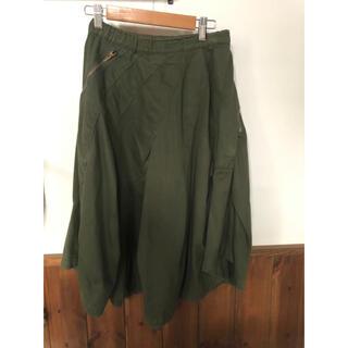 メルシーボークー(mercibeaucoup)のメルシーボークー☆変形スカート サイズ0(ひざ丈スカート)