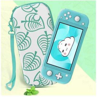 Nintendo Switch Lite対応 収納保護ケース どうぶつの森カラー(その他)