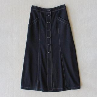 シンゾーン(Shinzone)の未使用 タグ付き シンゾーン ボタン フロント スカート(ロングスカート)
