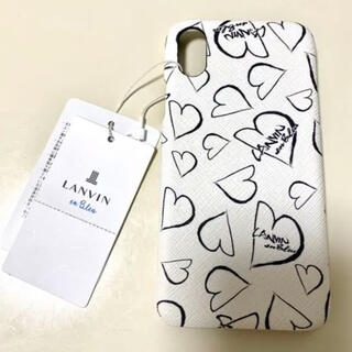 ランバンオンブルー(LANVIN en Bleu)の【LANVIN en Bleu】iPhone Xケース(iPhoneケース)