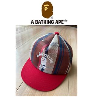 アベイシングエイプ(A BATHING APE)のエイプキッズ キャップ(帽子)