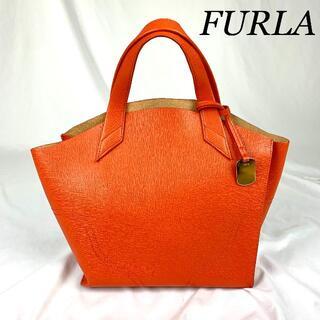 フルラ(Furla)のFURLA フルラ レザー ハンドバッグ(ハンドバッグ)