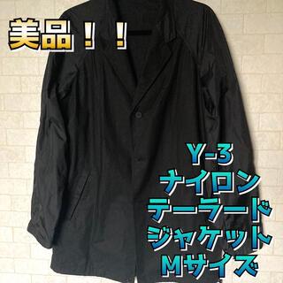 ワイスリー(Y-3)の美品 Y-3 テーラード ジャケット風 アウター ブラック Mサイズ(テーラードジャケット)
