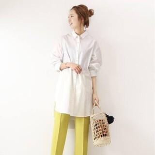 スピックアンドスパン(Spick and Span)のSpick and Span  Backless long shirt(シャツ/ブラウス(長袖/七分))