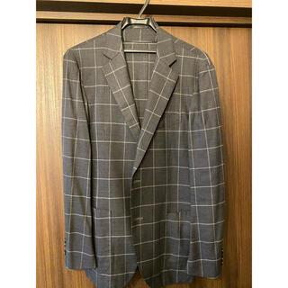 TOMORROWLAND - 【12月から値上げします】 TOMORROWLAND ジャケット グレー×白